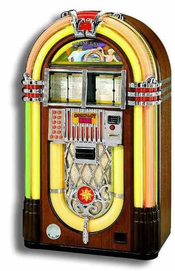 Smuk Wülitzer kr. 17.500.- inkl 80 CDér og højttaler LO-28